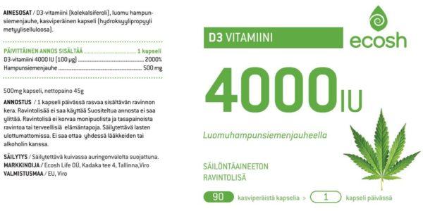 D3-vitamiini