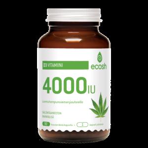 D3 vitamiini 4000iu/kapseli