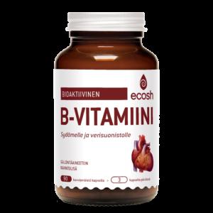 Bioaktiivinen B vitamiini sydämelle