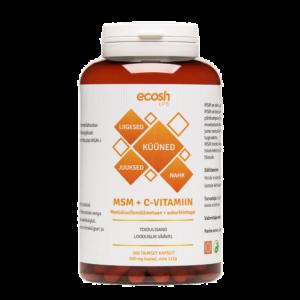MSM + C vitamiini
