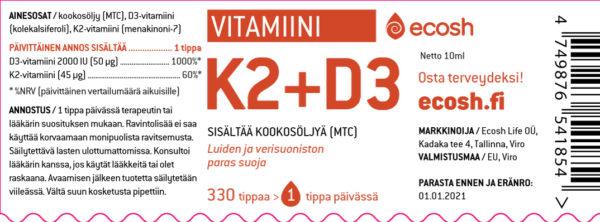 K2+D3